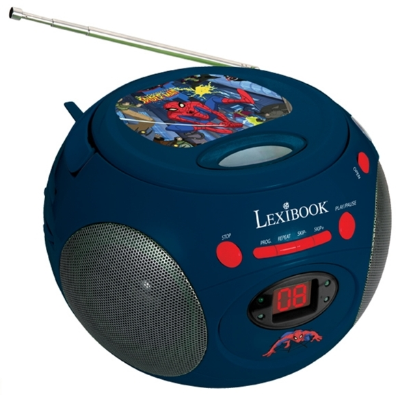 Radio cu CD Player Spiderman RCD102SP
