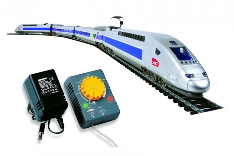 Trenulet electric de viteza TGV POS