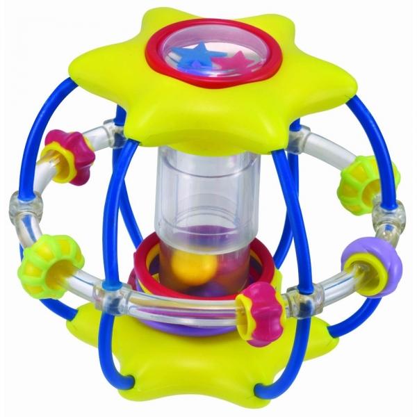 Zornaitoare minge-stea Manhattan Toy