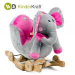 Balansoar cu roti 2 in 1 Elephant cu sunete