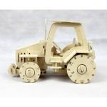 Tracktor - Puzzle 3D din lemn
