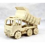 Truck - Puzzle 3D din lemn