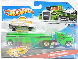 Camion cu remorca, Hot Wheels - Fright F