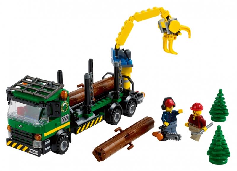 Camion de transportat busteni (60059)