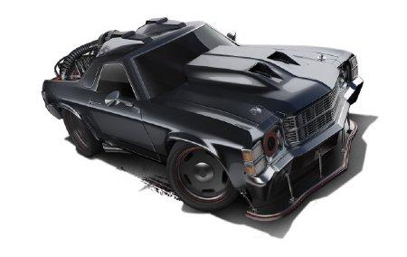HotWheels Masinuta model - Custom 71 El