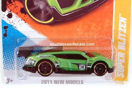 HotWheels Masinuta model - Super Blitzen