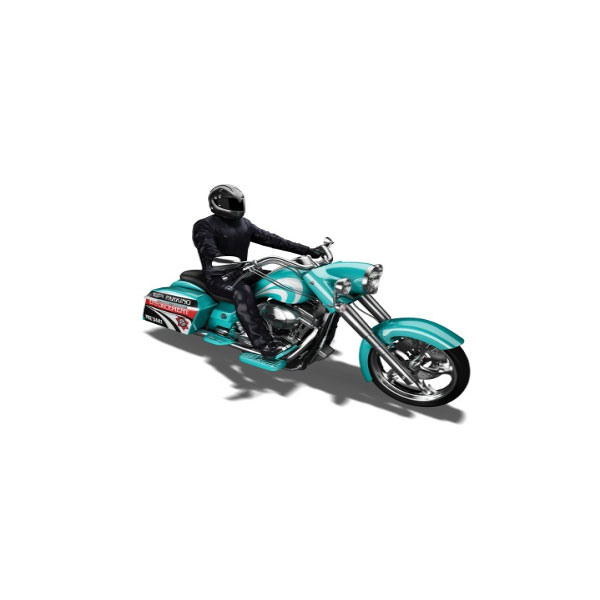 HotWheels Motocicleta model - Bad Bagger