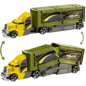 HotWheels camion CrashinRig - Galben-Ve