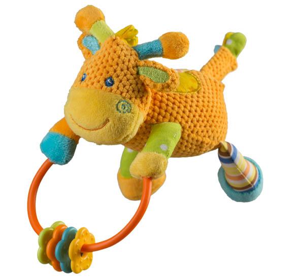 Jucarie cu chitaitoare Girafa