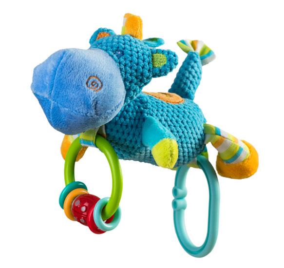 Jucarie din plus cu clopotel Hippo