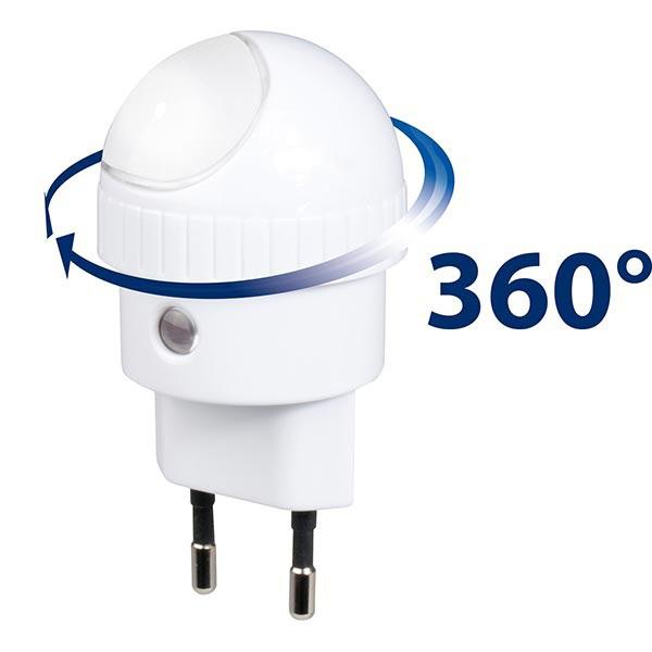 Lampa de veghe cu senzor de lumina ANV-19 Alecto