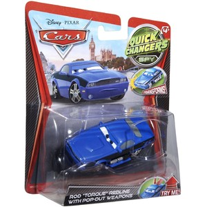 Masinuta Cars 2 Quick Changers - Rod Tor