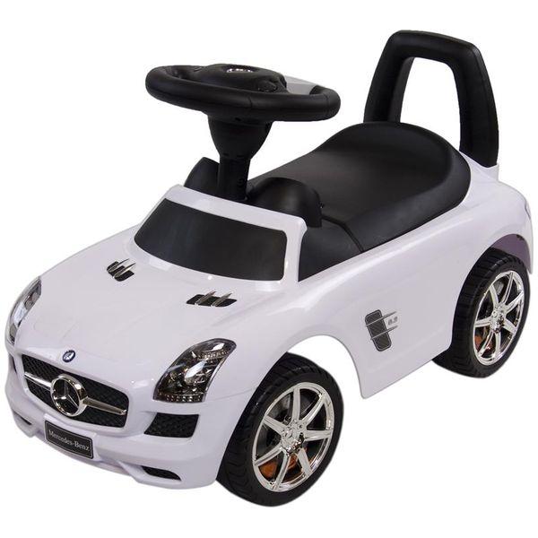 Masinuta fara pedale Sun Baby Mercedes Alb