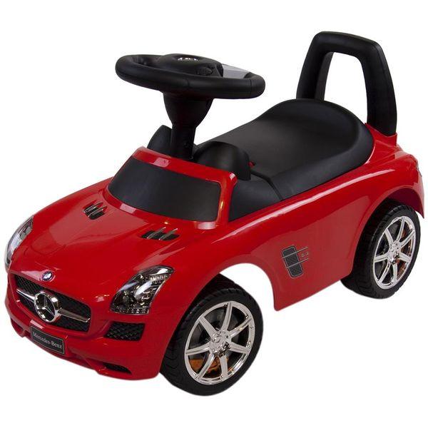 Masinuta fara pedale Sun Baby Mercedes Rosu