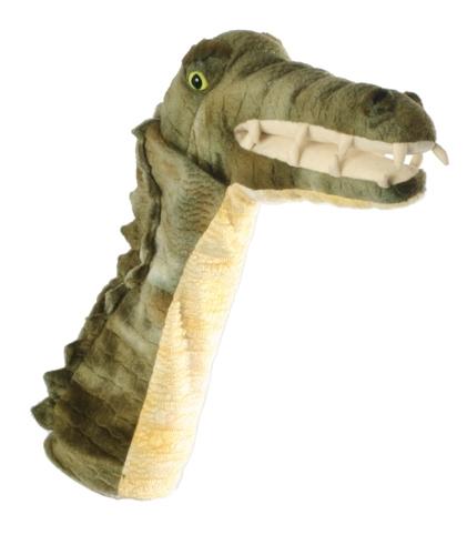 Papusa de mana stil manusa Crocodil