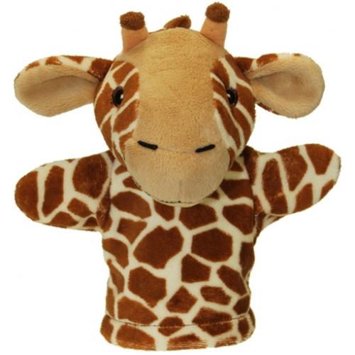 Prima mea papusa de mana Girafa