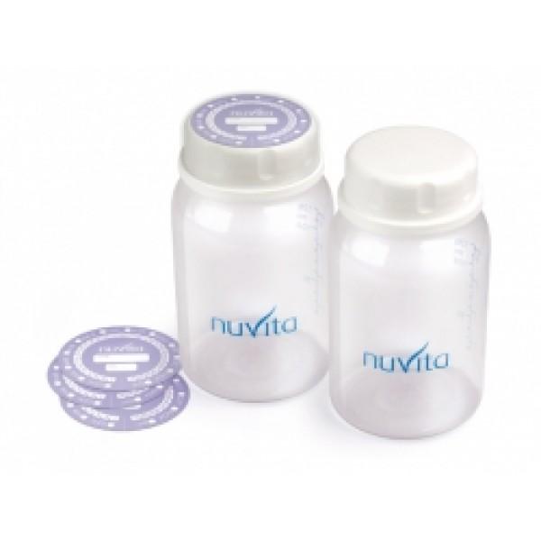 Set 2 Recipiente Colectare Lapte, BPA 0