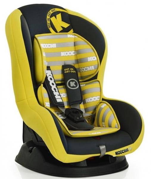 Scaun Auto Kickstart Primary Yellow Koochi
