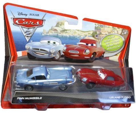 Set 2 Masinute Cars 2 - Finn McMissile s