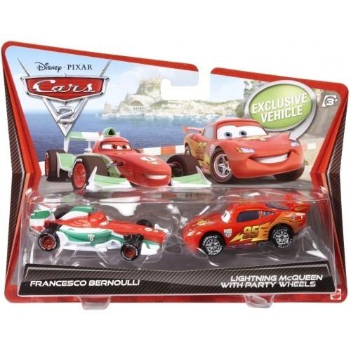Set 2 Masinute Cars 2 - Fulger McQueen s