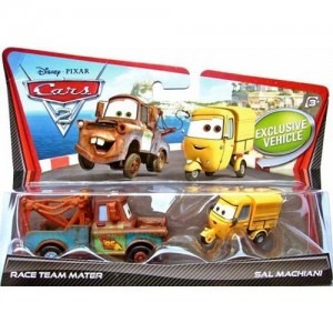 Set 2 Masinute Cars 2 - Mater si Sal Mac