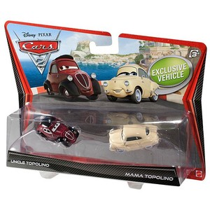 Set 2 Masinute Cars 2 - Uncle + Mama