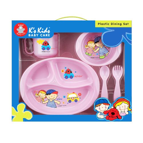 Set 5 piese Ks Kids roz
