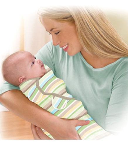 Sistem de infasare pentru bebelusi SwaddleMe Dungulite Colorate