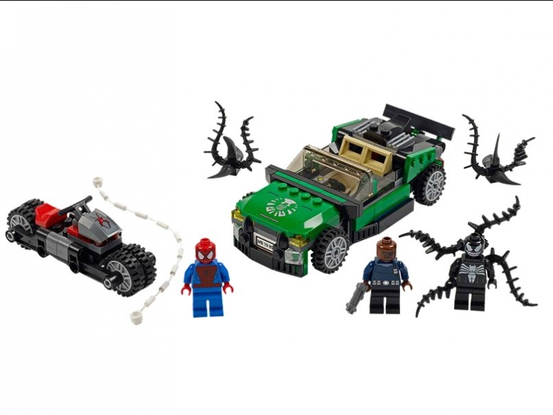 Spider-Man Spider-Cycle Chase (76004)
