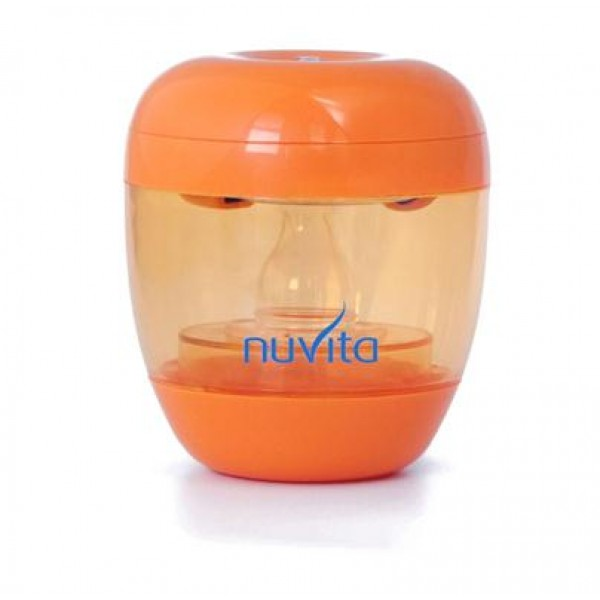 Sterilizator UV portabil pentru suzete, tetine si interiorul biberoanelor - 1555 NUVITA