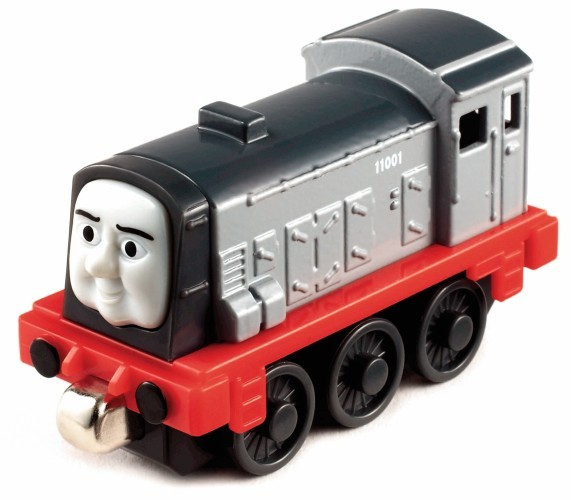 Locomotiva mica Dennis - Fisher Price