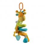 Jucarie din plus spirala cu zornaitoare Girafa