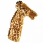 Papusa de mana stil manusa - Girafa