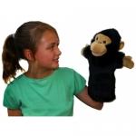 Papusa de mana stil manusa Cimpanzeu