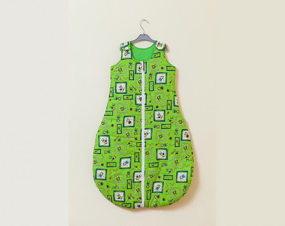 Sac de dormit Kids (verde) 70 cm