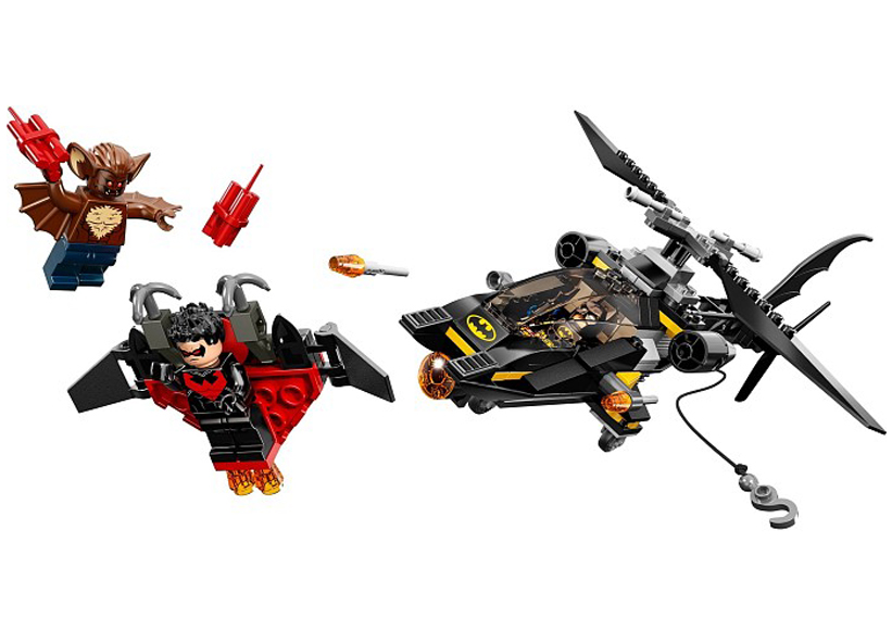 Batman Atacul Omului-Liliac (76011)