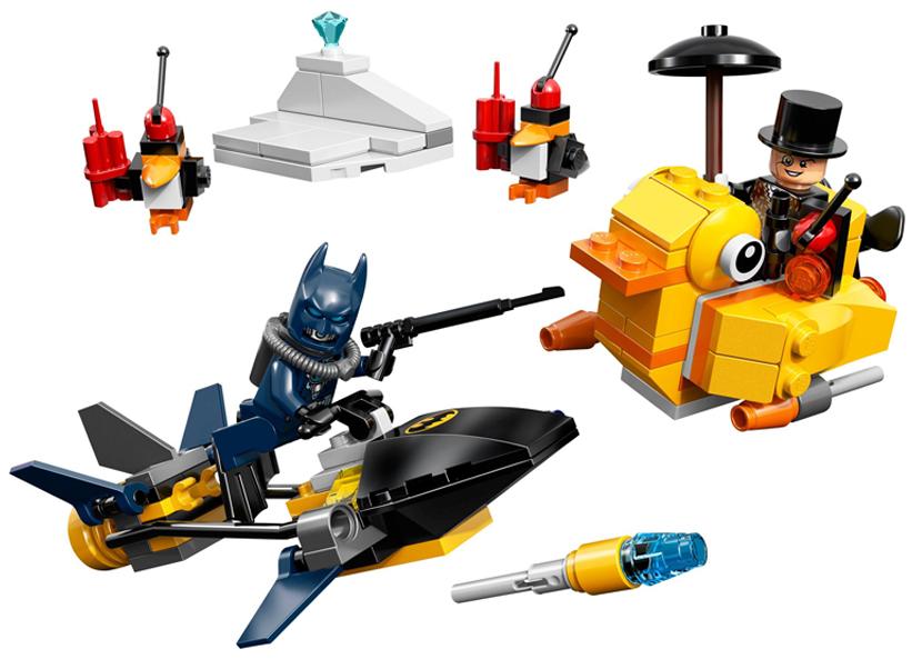 Batman Confruntarea pinguinului (76010)