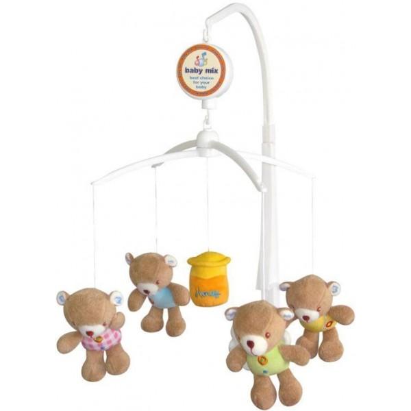 Carusel muzical Honey din categoria Camera copilului de la BABY MIX