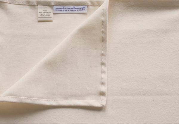 Cearsaf din Bumbac Organic Flausat 60x120 cm