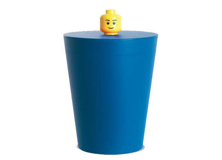 Cos multifunctional LEGO albastru inchis