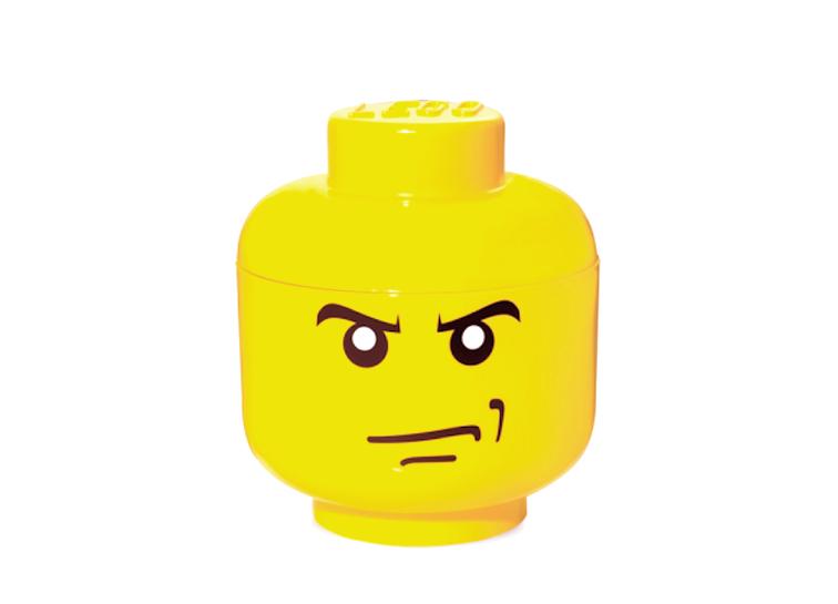 Cutie depozitare S cap minifigurina LEGO nervoasa