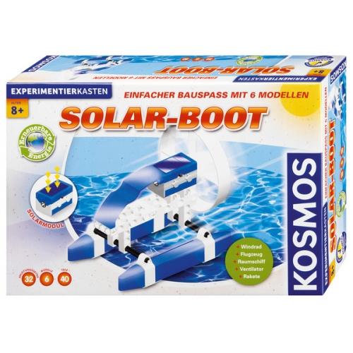 Experimente pentru acasa - Barca solara (si alte 5 modele)