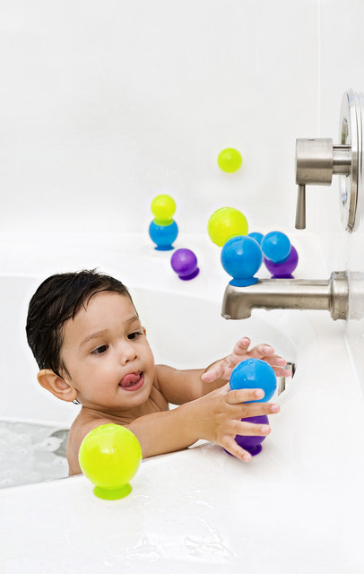 Jucarii de baie cu ventuze Bubbles