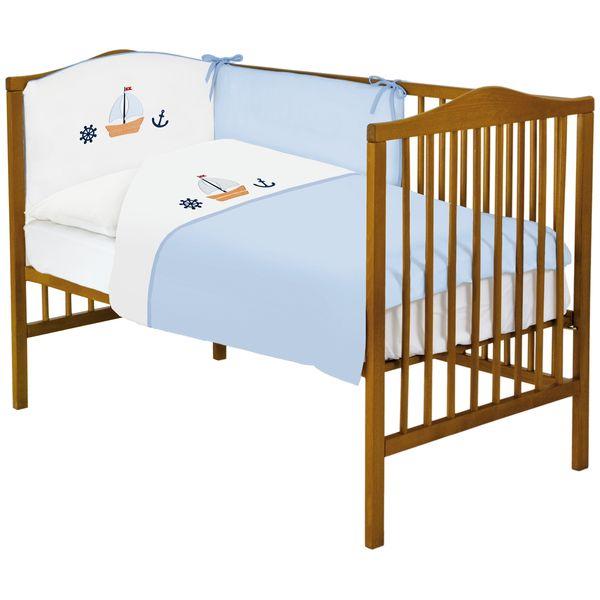Lenjerie de pat cu 3 piese Marine