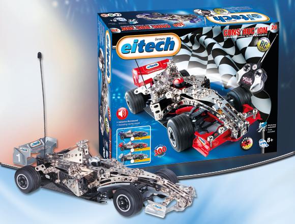 Masina Formula 1 cu telecomanda - albast