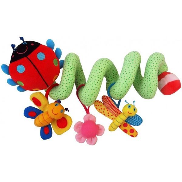 Spirala cu jucarii Ladybird