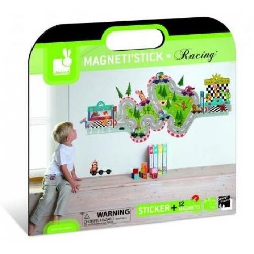 Sticker mural magnetic - La cursa (J02847)