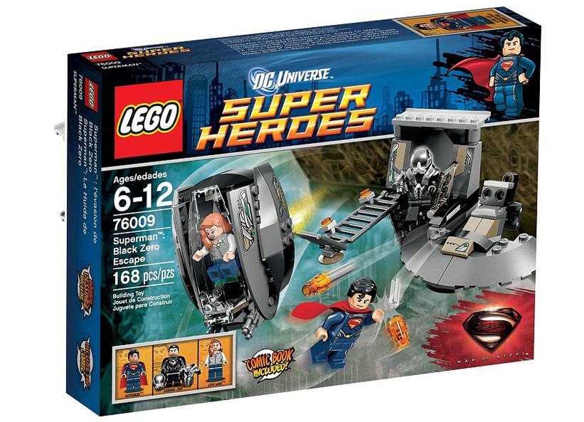 Superman Eliberarea de Black Zero (76009)