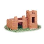 Set de constructie din caramizi - Castel - suport de creioane