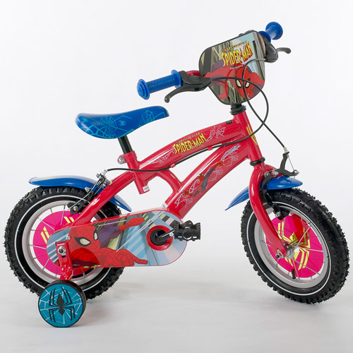 Bicicleta Spectacular Spiderman 12 Ironway